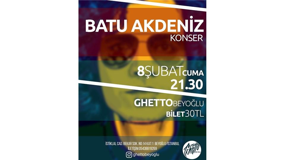 BATU AKDENİZ Konser