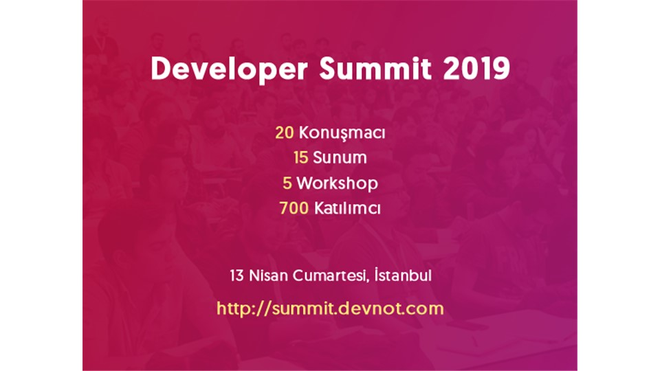 Developer Summit 2019
