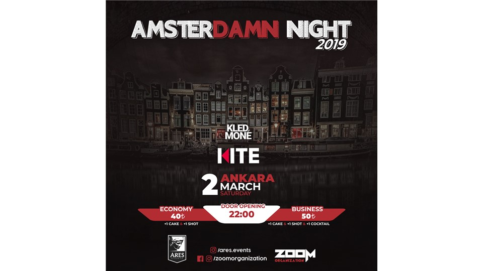 Amsterdamn Night 2019