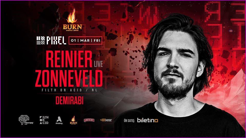 Burn Energy Drink Presents: Reinier Zonneveld (Live)
