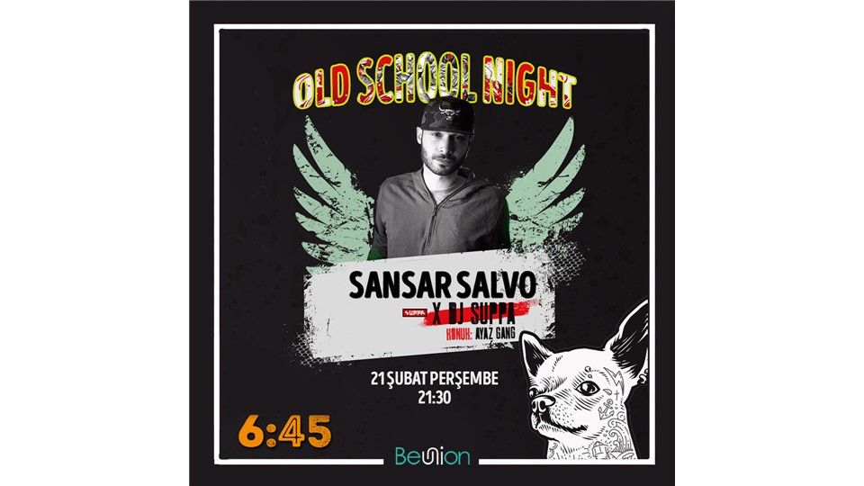 Old School Night with Sansar Salvo
