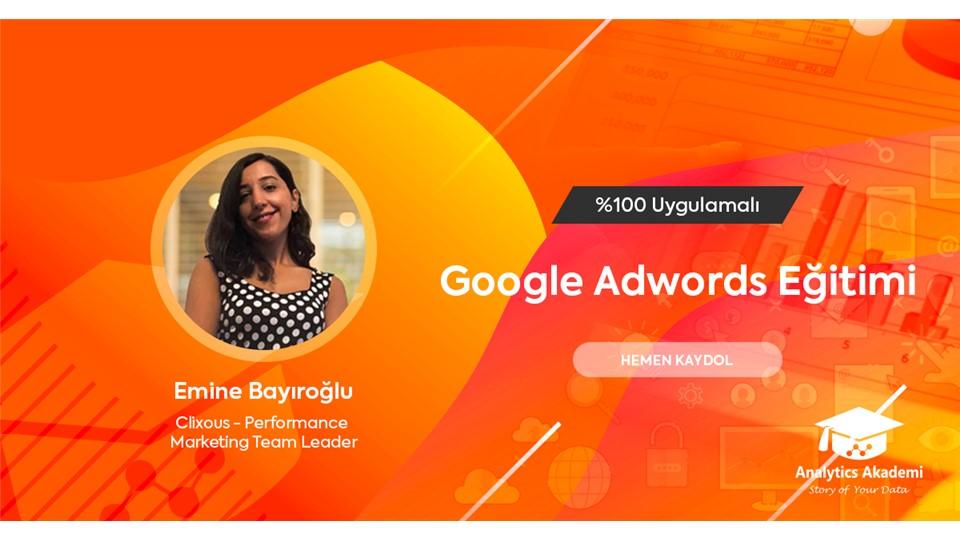 Google Adwords Eğitimi (ÜCRETLİ) - %30 Bahar İndirimi