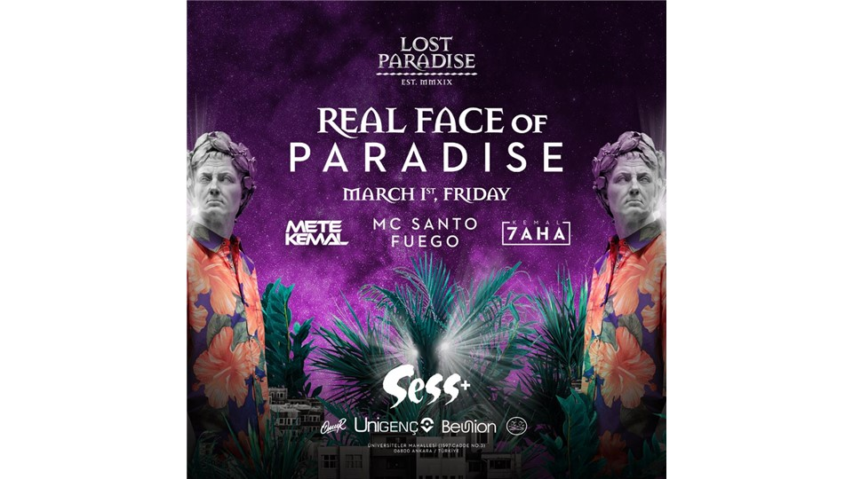 REAL FACE OF PARADISE PARTY