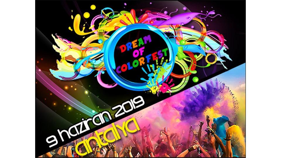 DREAM OF COLOR FEST 2019 ANTALYA