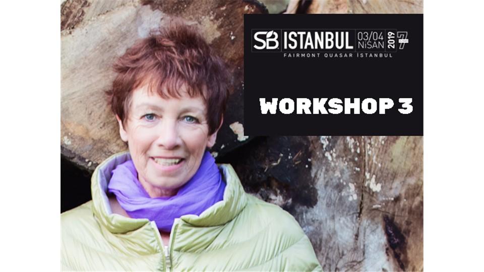 """Sustainable Brands Istanbul Workshop 3: """" İyi Yaşam İçin Dönüştürücü Yenilik Nasıl Tasarlanır: İstanbul"""" - Jenny Andersson"""