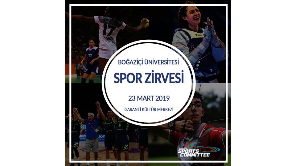 Boğaziçi Üniversitesi Spor Zirvesi 2019