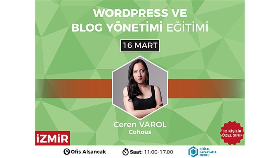 WordPress ve Blog Yönetimi Eğitimi [İzmir]