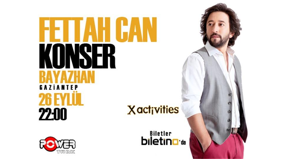 Fettah Can Konseri - Gaziantep