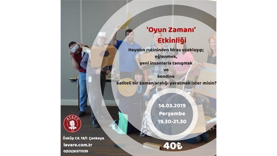 Oyun Zamanı / Ankara