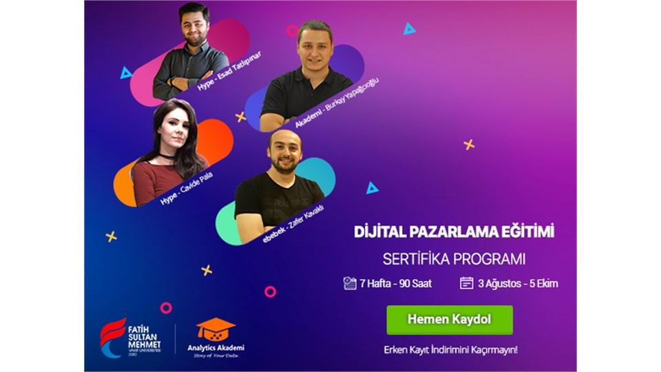 Dijital Pazarlama Uzmanlığı Sertifika Programı