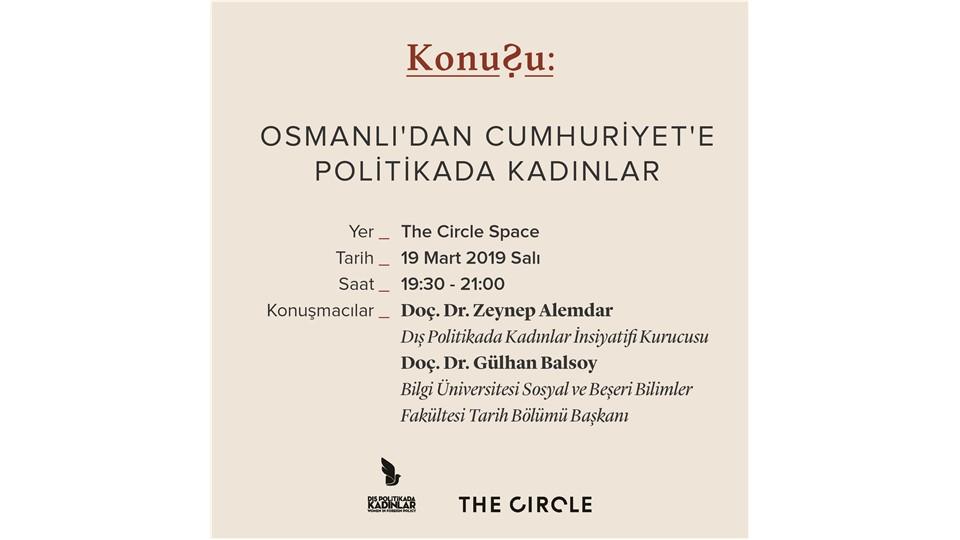 Osmanlı'dan Cumhuriyet'e Politikada Kadınlar
