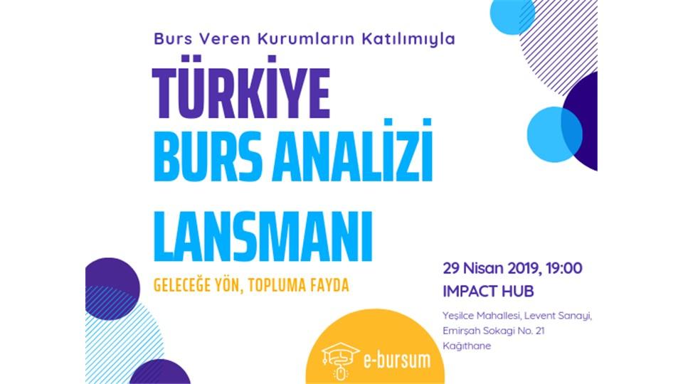 Türkiye Burs Analizi Lansmanı 2018-2019