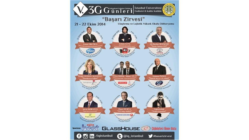V. 3G (Geleneksel - Gelişim - Girişim) Günleri