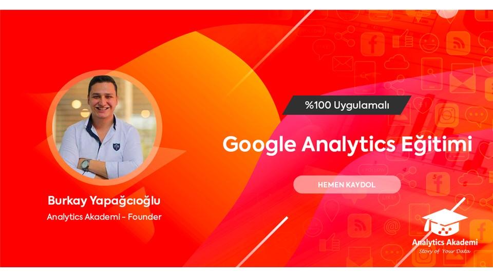 Google Analytics Eğitimi (ÜCRETLİ)