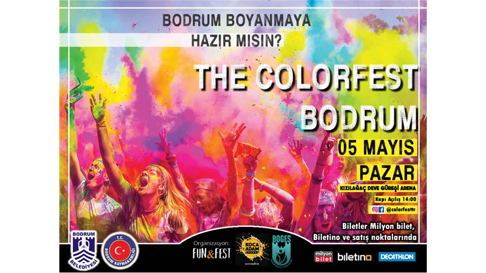 The Color Fest Bodrum