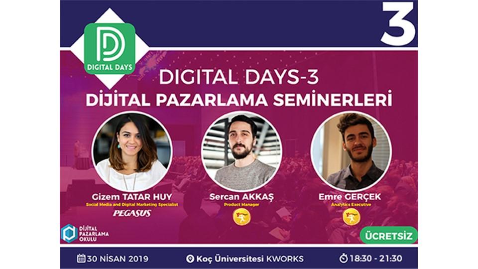 Digital Days 3  (ÜCRETSİZ)