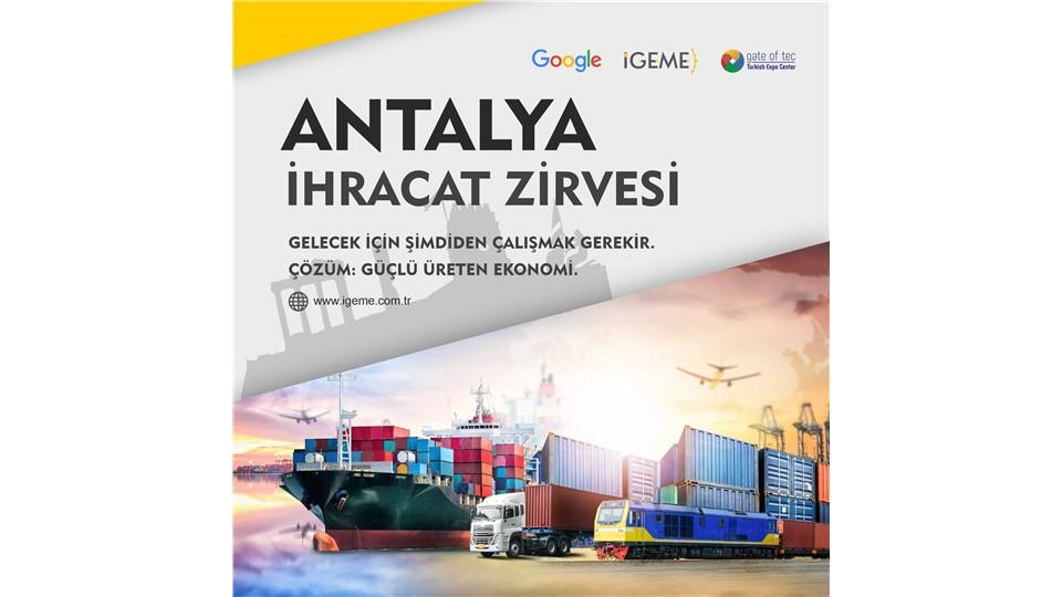 Antalya İhracat Zirvesi