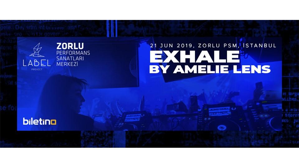 Exhale by Amelie Lens - İstanbul - Zorlu Performans Sanatları Merkezi