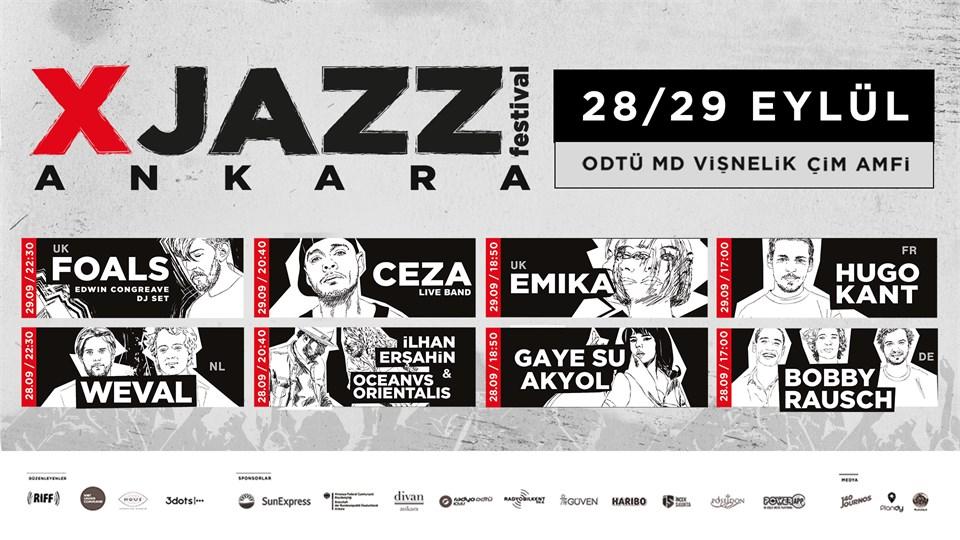 XJAZZ Ankara 2019 28-29 Eylül