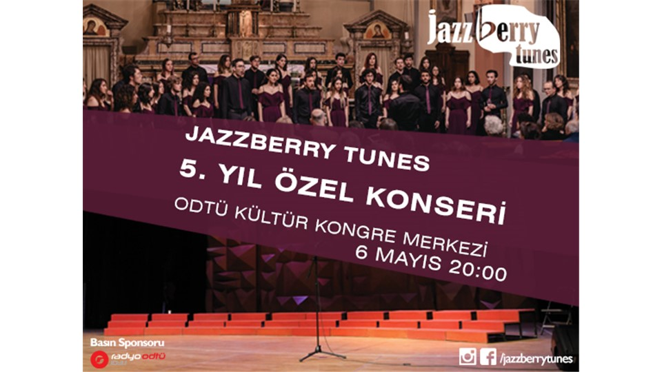 Jazzberry Tunes 5. Yıl Özel Konseri
