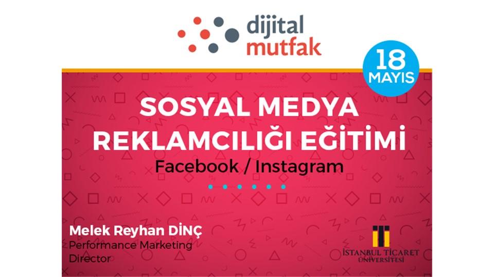 Dijital Mutfak Sosyal Medya Reklamcılığı Eğitimi