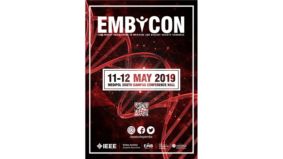 EMBCON'19 / IEEE Turkey Engineering in Medicine and Biology Congress
