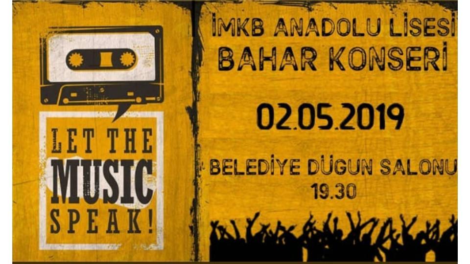 Bozüyük İmkb Anadolu Lisesi Geleneksel Bahar Konseri