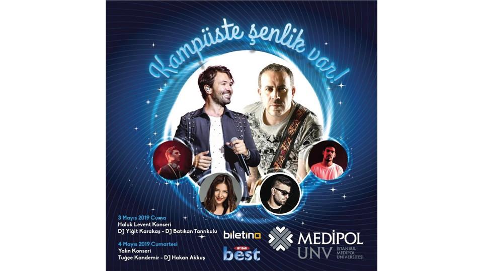 Medipol Üniversitesi Bahar Şenliği