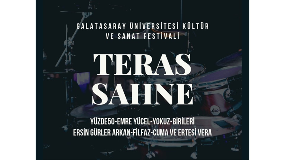GSÜ Teras Sahne Konserleri