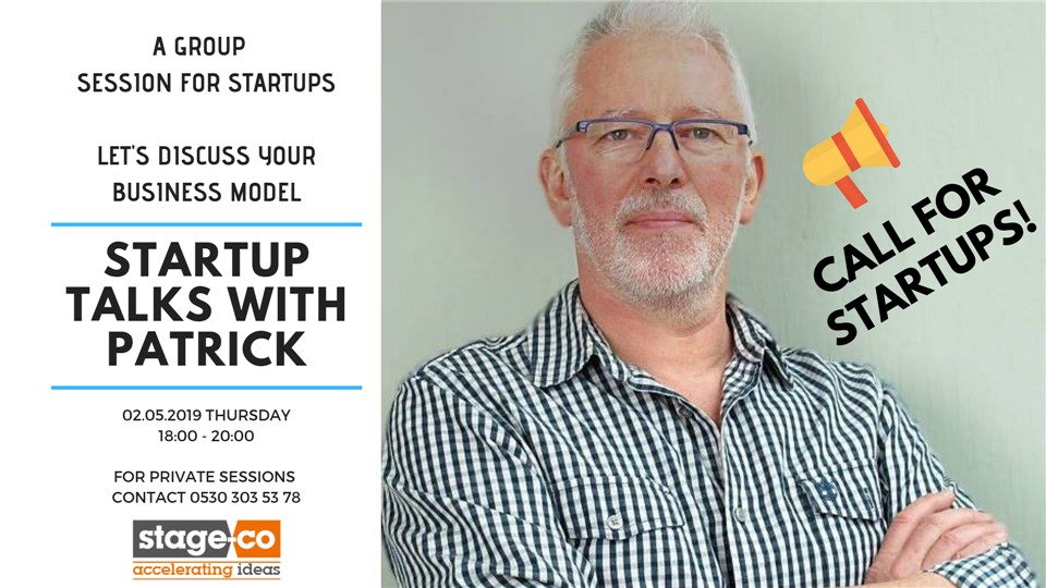 STARTUP TALKS WITH PATRICK / LET'S DISCUSS YOUR BUSINESS MODEL