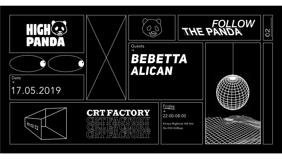 Follow the Panda | CRT Factory w/ Bebetta (Monaberry, DE)