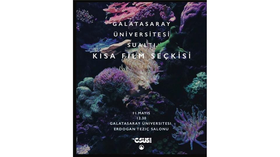 Galatasaray Üniversitesi Sualtı Kısa Film Gösterimi