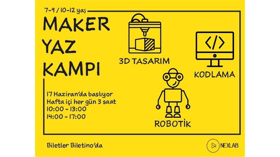 Maker Yaz Kampı
