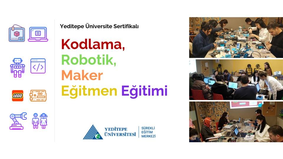 Kodlama, Robotik ve Maker Eğitmen Eğitimi