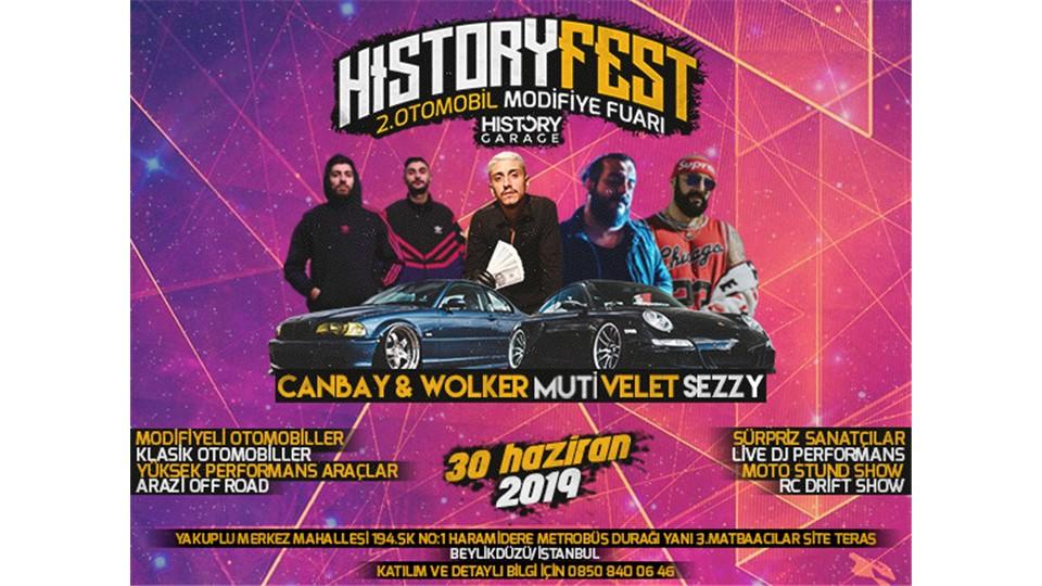 History Fest 2. Otomobil Modifiye Fuarı