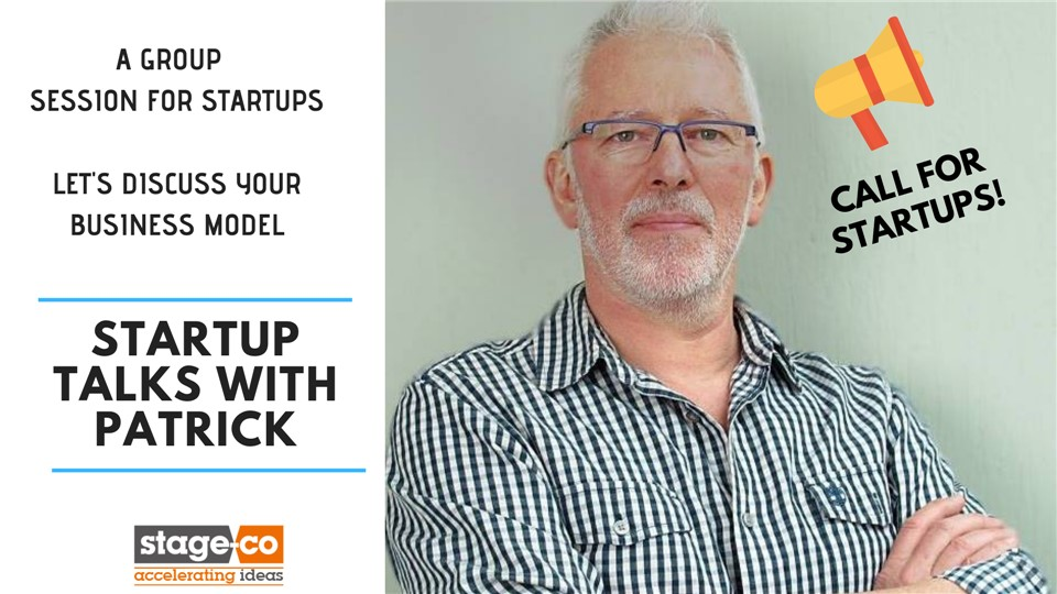 STARTUP TALKS WITH PATRICK