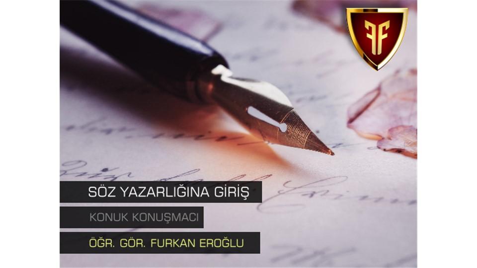 Söz Yazarlığına Giriş - Workshop (Ankara)