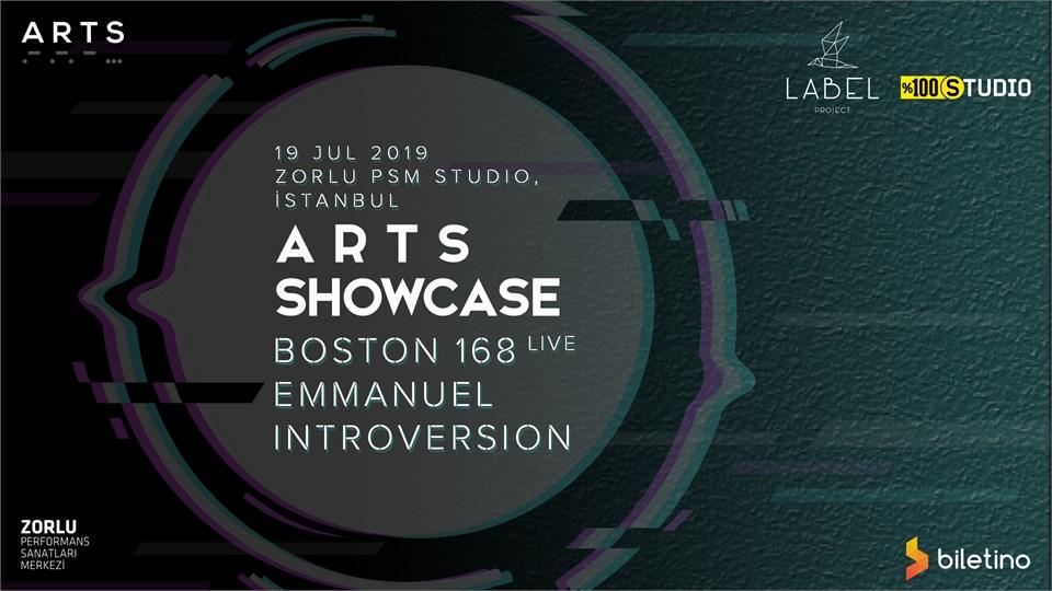 ARTS : Boston 168, Emmanuel, Introversion | Istanbul
