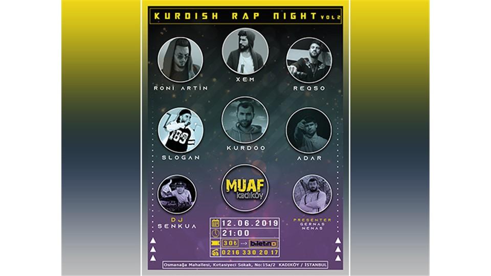 Kurdish Rap Night Vol.2
