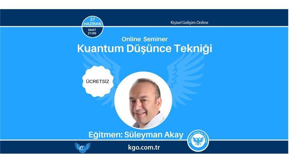 Kuantum Düşünce Tekniği (Online Seminer)