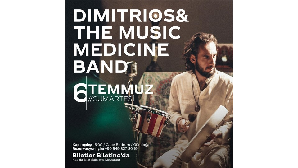 DIMITRIOS & THE MUSIC MEDICINE BAND