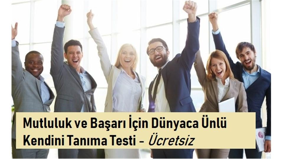 Mutluluk ve Başarı İçin Dünyaca Ünlü Via Testi