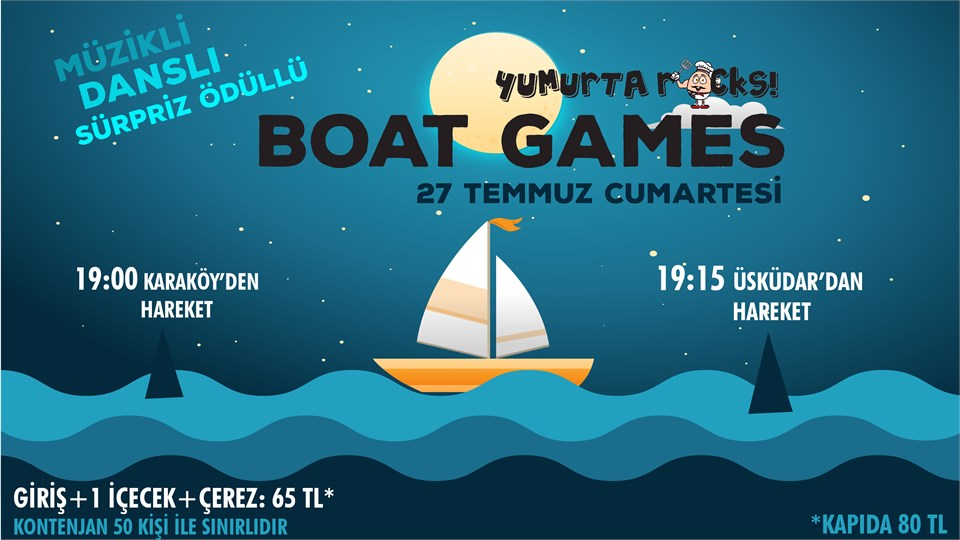 BOAT GAMES by Yumurtarocks