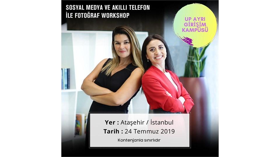 Sosyal Medya ve Mobil Fotoğrafçılık Workshop