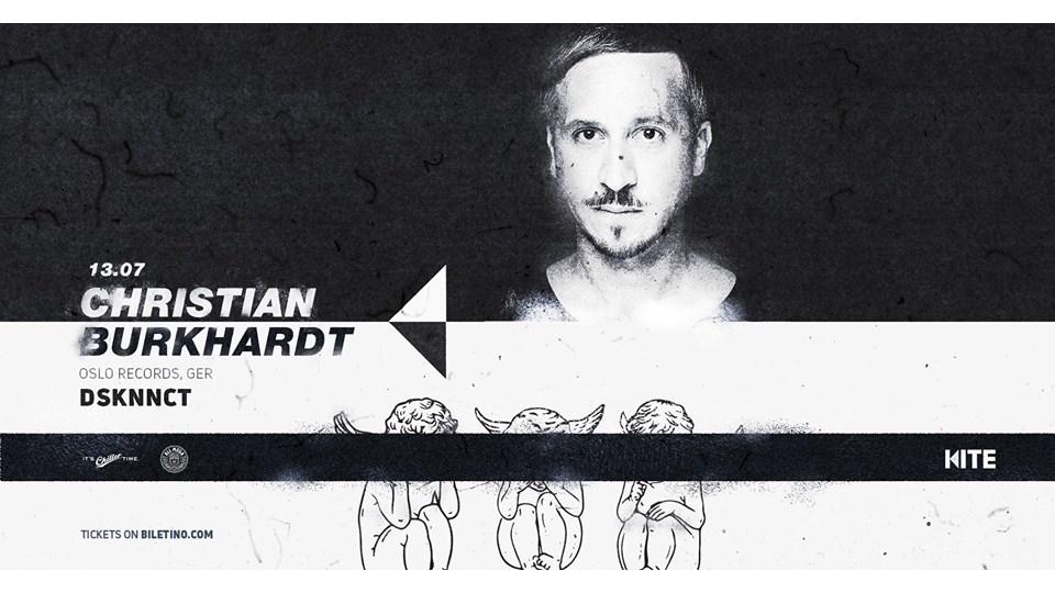 Christian Burkhardt (Cocoon, Ger) Dsknnct