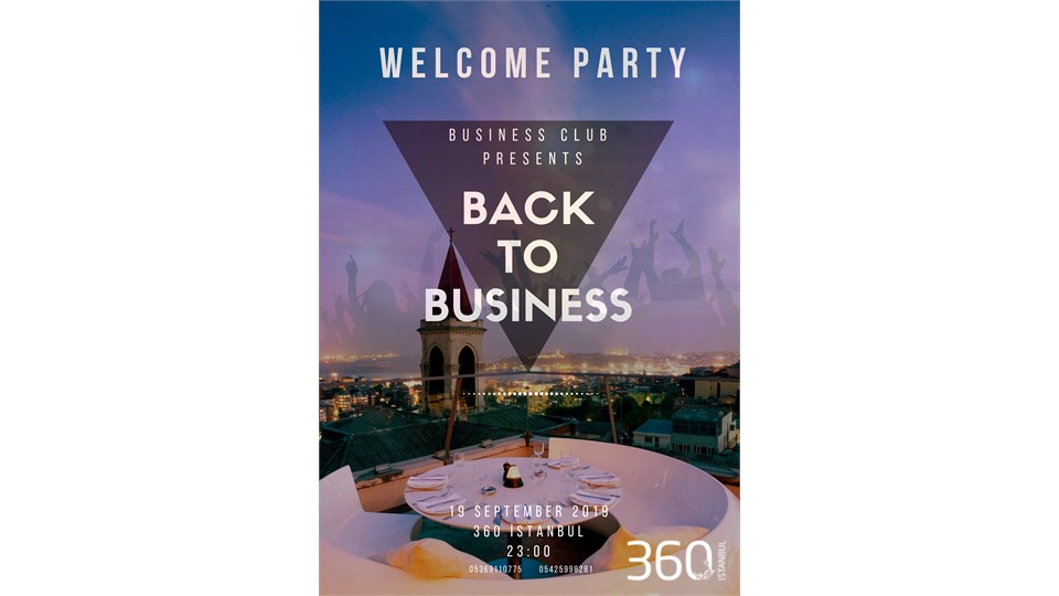 BUSINESS CLUB WELCOME PARTY