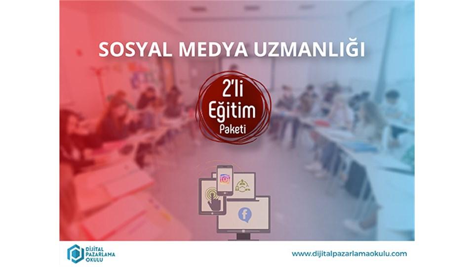 Sosyal Medya Uzmanlığı 2'li Eğitim Paketi