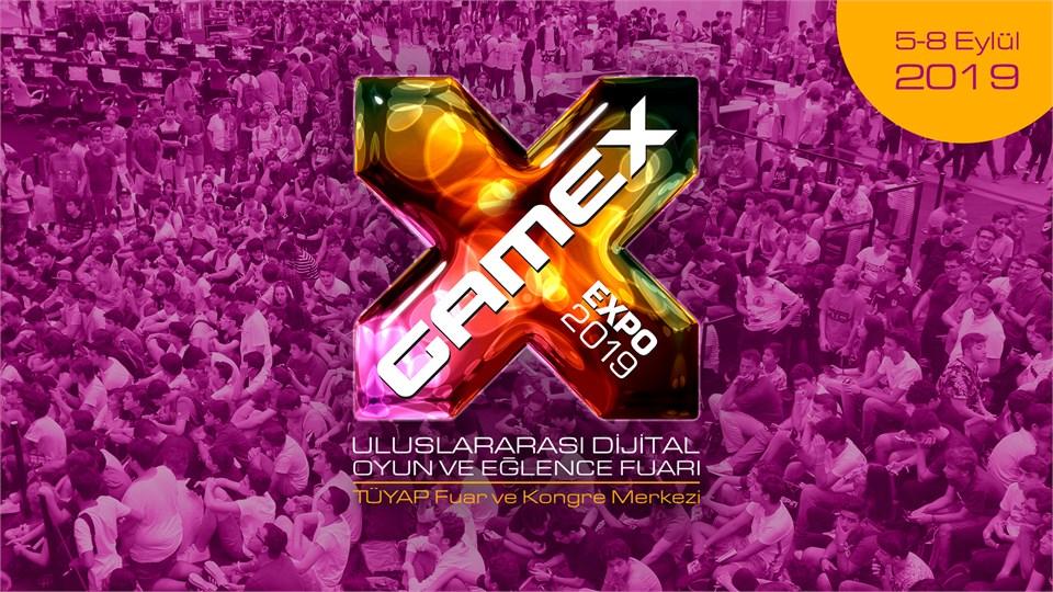 GameX 2019 Uluslararası Dijital Oyun ve Eğlence Fuarı