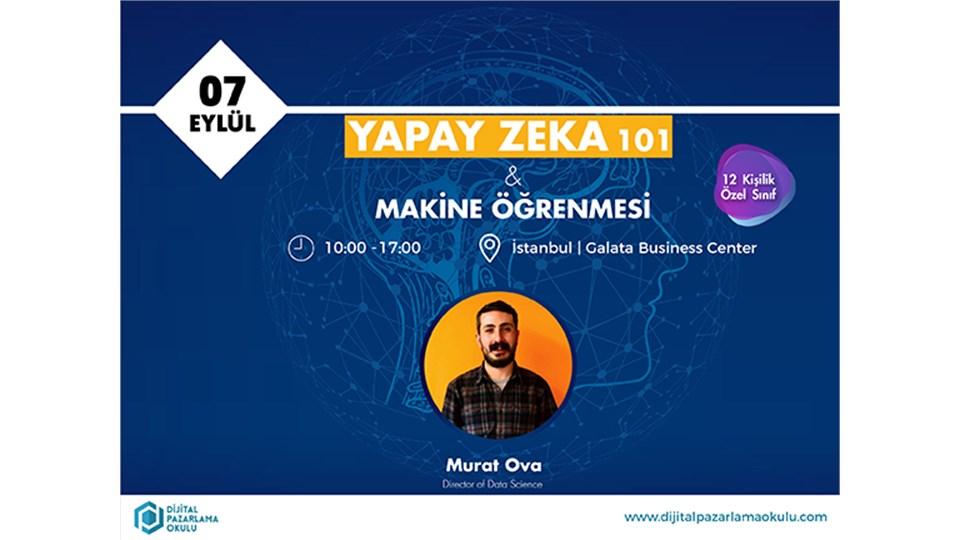 Yapay Zeka 101: Makine Öğrenmesi Eğitimi