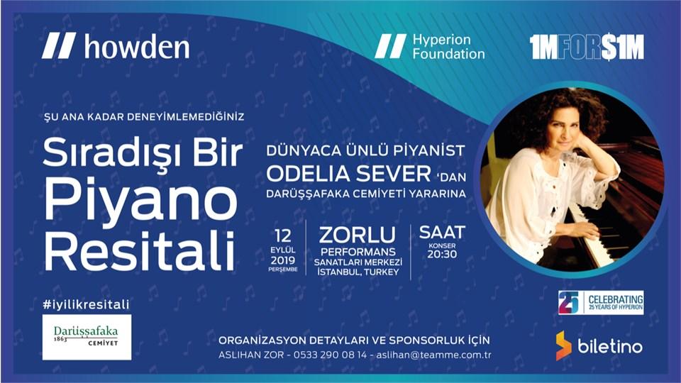 Odelia Sever Piyano Resitali